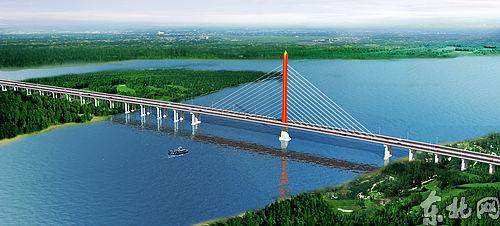 黑瞎子岛乌苏大桥