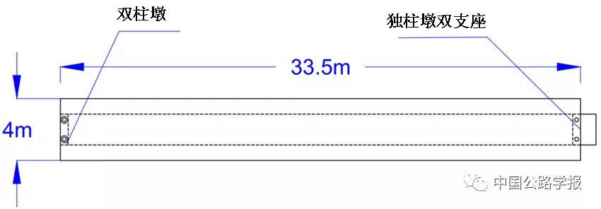 图2-2 天桥平面图