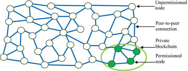 私有链结构示意图